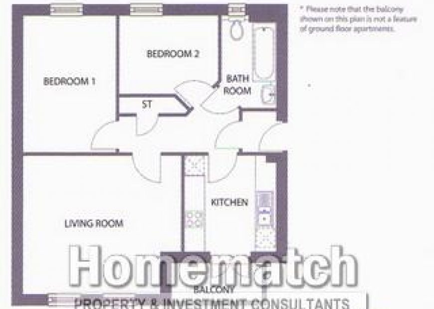 Ground Floor Apartment. Block of 4. White goods. Allocated Parking. Secure Entry System.