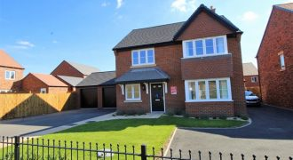 NEW BUILD. Garage + Drive.  Study. Utility Room inc WC/Cloaks. Master En-suite. Large garden. Plush carpets.