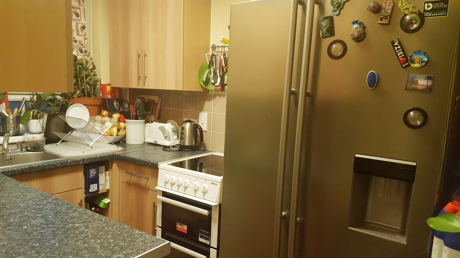 *** Duplex Apartment *** Over 1st & 2nd floors. Larger than average double for master Bedroom. 2nd bedroom standard room double. £1600 + £100 contribution to heating & hot water per month